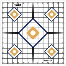 Allen Sight Grid Target 12in 12pack