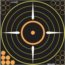 Allen Adhesive Bullseye Target 12in 5pack