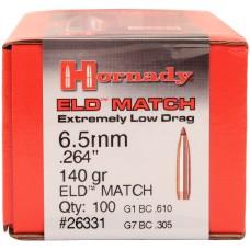 Hornady 6.5mm .264 140gr ELD-M