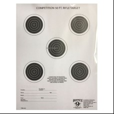 Hoppe's 9 Competition 50-FT. Rifle Target