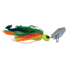 Jaz 5/8OZ Party Grub 03 Green/Yellow/Orange Lure