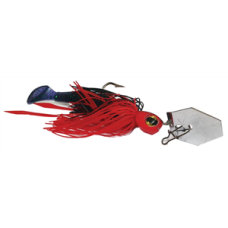Jaz 5/8OZ Party Grub 04 Black/Red Lure