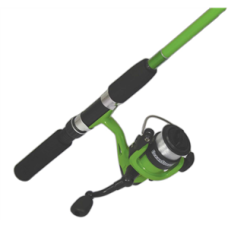 ColdStream Combo Fisharoo Lime Rod and Reel