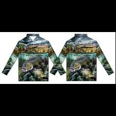 Profishent Sublimated Fishing Shirt - SLSCYX