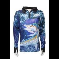AFN Sailfish Blue Shirt