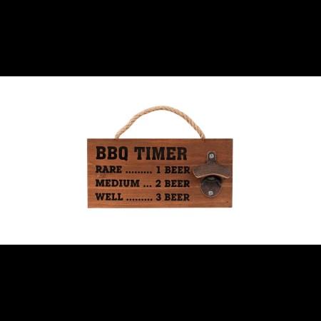 Avanti BBQ Timer Bottle Cap Opener