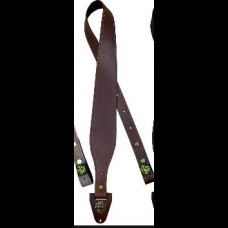 Colonial Leather 60mm Tapered Genuine Leather Gun Sling Brown