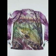 Profishent Sublimated  Shirt - Pink Cod/Lizard