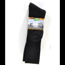 Ridgeline Downunder Socks Black 6-9 3 Pack