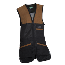 Ridgeline Legend Shooting Vest Black/Brown
