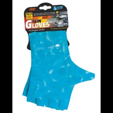 AFN Sun Gloves - Water Blue