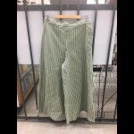 Frontier Classic Ladies Green Stiped Riding Pants