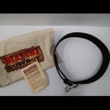 Bianchi Cowboy Hondo Leather Belt Black