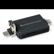 Shealth Camera Tri Card Reader with Adapters