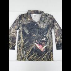 Profishent Hunter Fishing Shirt - Camo Pig