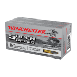 Winchester Super Speed .22 Long Rifle Copper Plated Hollow Point Small Game